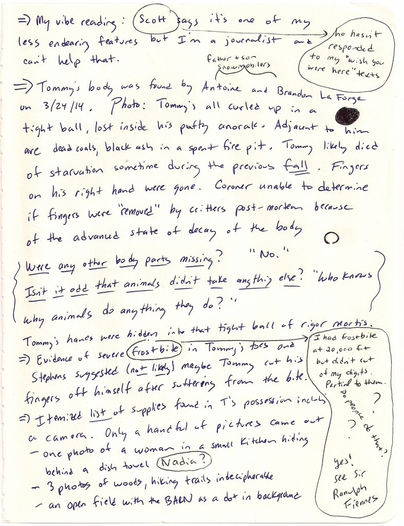 Notes for The Barn in the Wild - Page 5