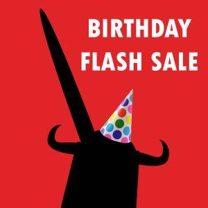 Birthday Flash Sale